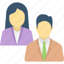 business buddies, business partners, collaborator, managing partner, office buddies icon