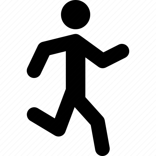 athlete, exercise, fitness, jogging, run, running icon