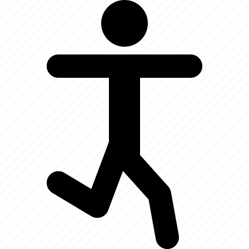 enjoy, fitness, human, openarms, person, run, running icon