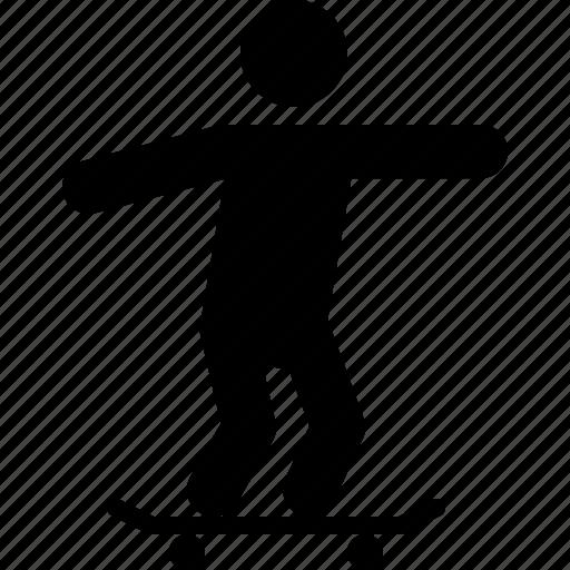 game, outdoor, skate, skating, skatpad, sport icon
