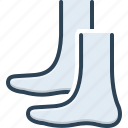 barefoot, shank, footstep, posture, leg, foot, heels icon