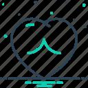 cardiology, heart, human, love, romance, romantic, valentine icon