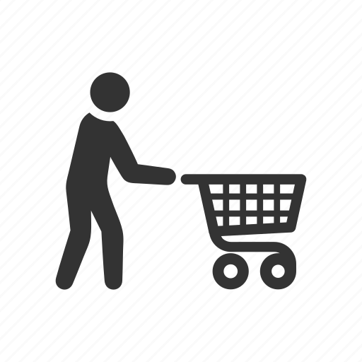 buy, cart, groceries, shop, shopper, shopping, trolley icon