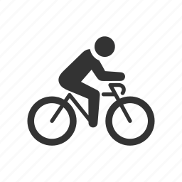 bicycle, bike, commute, cycle, cycling, race, ride icon