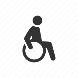 accessibility, care, disability, disable, handicapped, patient, wheelchair icon