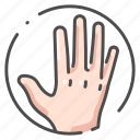 body, finger, hand, human, male, organ, people icon