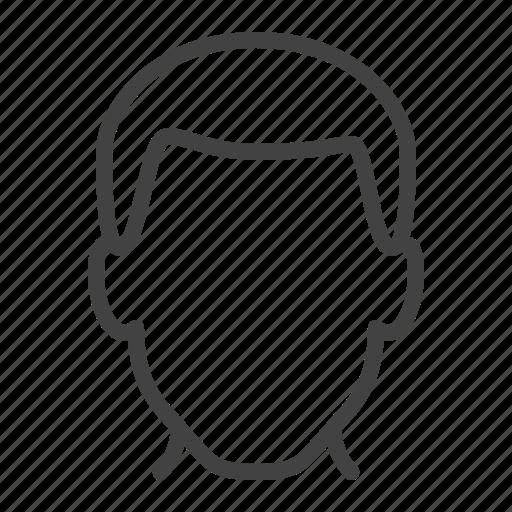 avatar, head, male, man, person, user icon