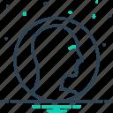 avatar, customer, employee, human profile, person, unisexual, user