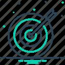 aim, arrows, darts, goal, objective, purpose, target