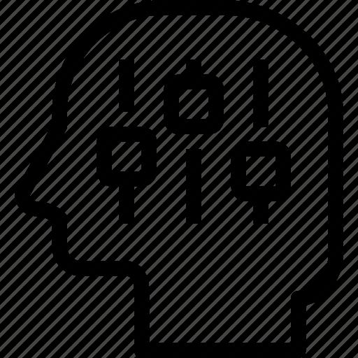 control, head, human, mind, process icon