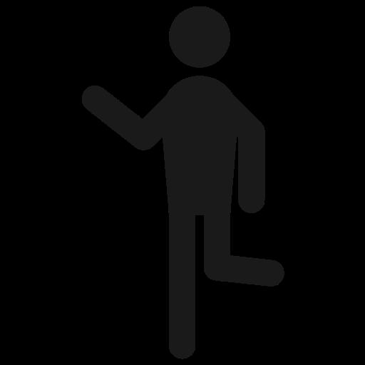 behaviour, hanging, hangout, humna, man, run icon
