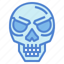 anatomy, bone, human, skull icon