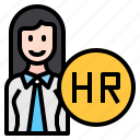 human, resource, person, female, business