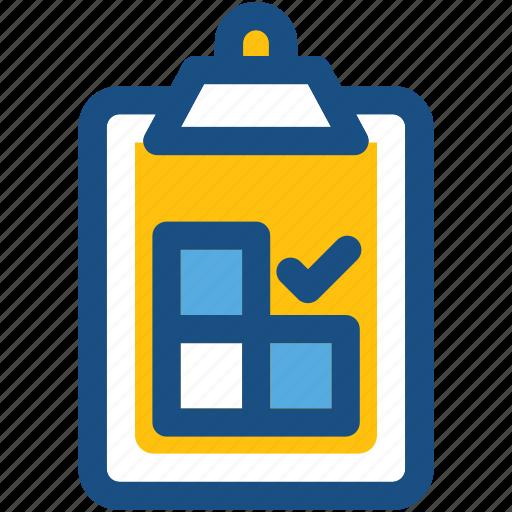 checklist, clipboard, list, memo, tasks icon