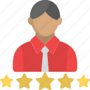 customer review, star ranking, star rating, user ranking, user rating icon