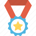 achievement, award, medal, reward, success icon