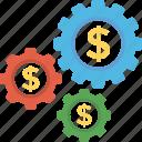 economic development, financial management, financial planning, money management, wealth management icon