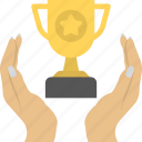 achievement, award, first, victorious, winner icon