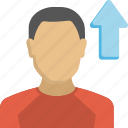 career growth, employee development, employee growth, professional growth, promotion icon