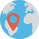 global address, global location, international location, location pin, location pointer icon