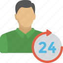 customer care, customer representative, customer support, operator, round the clock