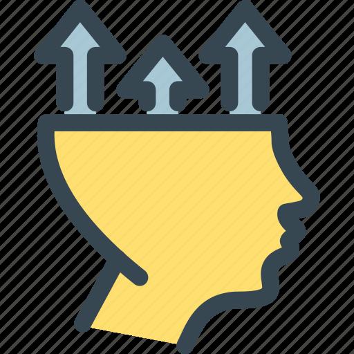 arrow, head, hr, human, job, resources, up icon