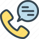 chat, help, hr, human, job, phone, resources icon