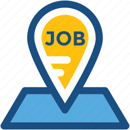employment, job opportunity, job post, jobs here, recruitment icon