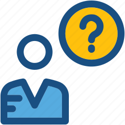 ask, customer support, faq, help, question mark icon