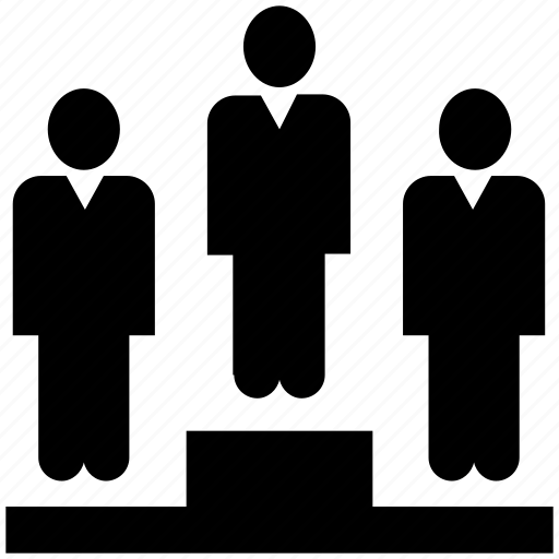 business, business man, man, peoples, person, podium, winner icon