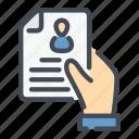choise, cv, doc, document, hand, resume