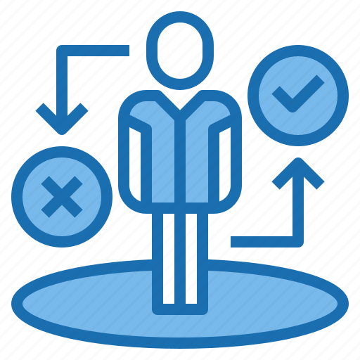 arrow, direction, human, manager, plan, resources, return icon