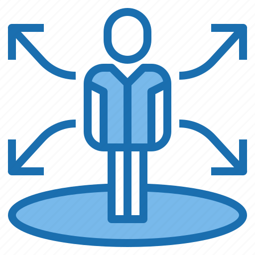 business, finance, human, manager, plan, resources, strategy icon