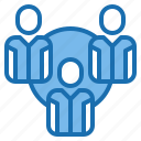 group, human, manager, people, plan, resources, team icon