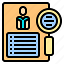 finance, human, investment, manager, money, plan, resources icon