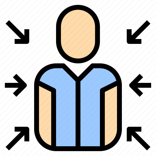 business, human, manager, plan, resources, seo, visitor icon