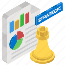 business document, business planning, strategic file, strategic management, trade planning icon