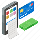 card payment, card transaction, internet banking, mobile application, payment gateway icon