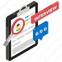 executive search, finding employee, headhunting, human resource, job hunting, job interview, recruiting icon