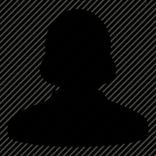 female, human, person, profile, user, woman icon