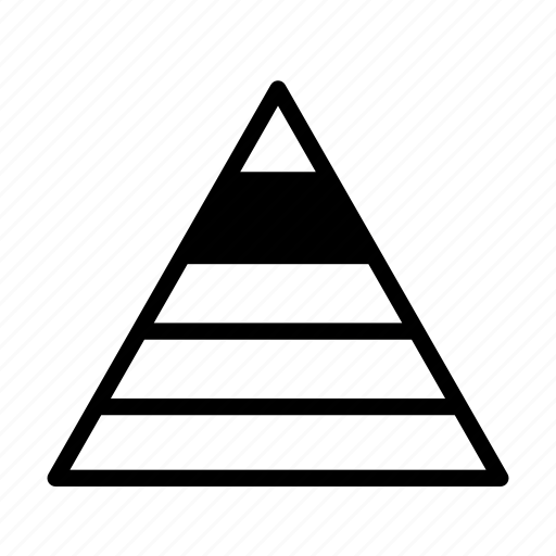 esteem, hierarchy, human motivation, mallow's hierarchy of needs, needs, pyramid icon