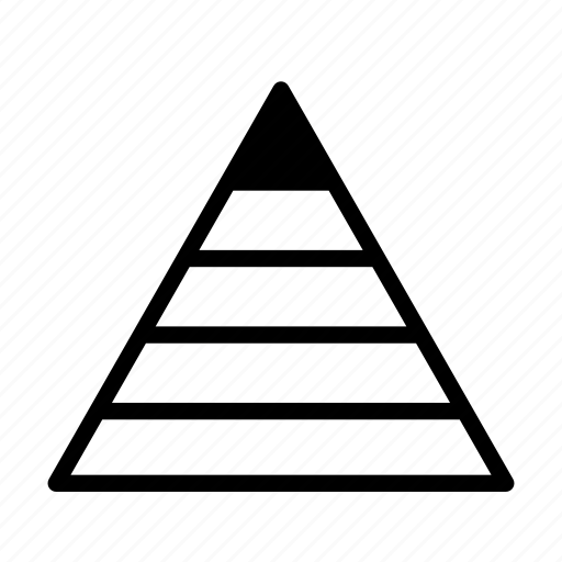 hierarchy, human motivation, mallow's hierarchy of needs, needs, pyramid, self-actualisation icon