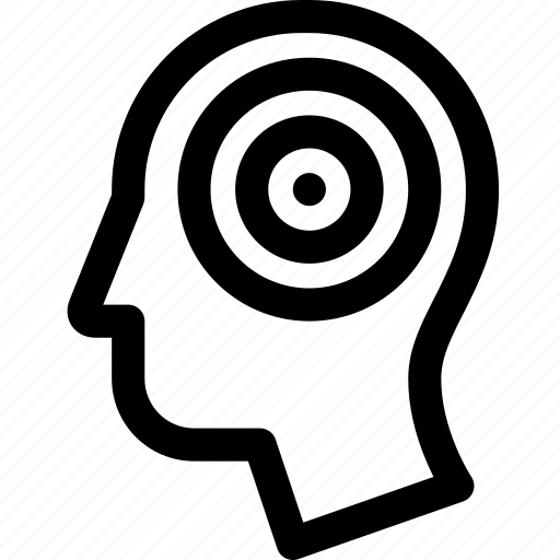 activity, brain, head, human, thoughts, vawes icon