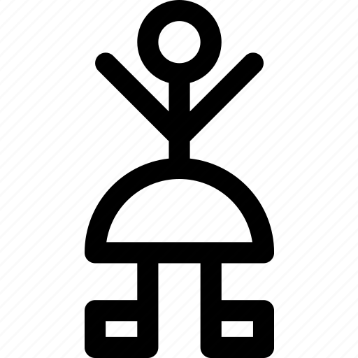 avatar, cheer, female, person, skirt, woman icon