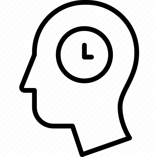 brain, head, pending, think, time, waiting icon