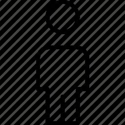 avatar, body, head, human, male, person icon