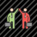 business, meeting, partnership, people, teamwork, trust, working