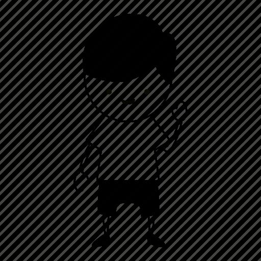 guy, hello, hi, human, nice, sketch, wave icon