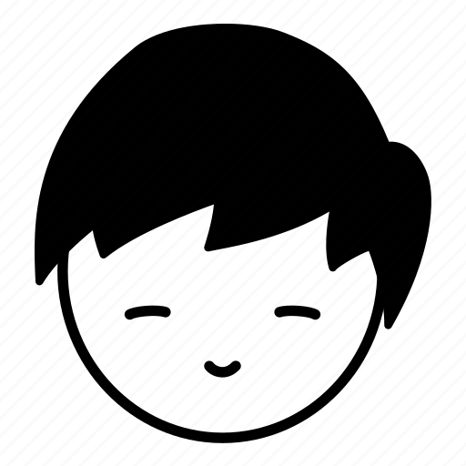 asian, boy, emoji, face, human, japanese, smile icon