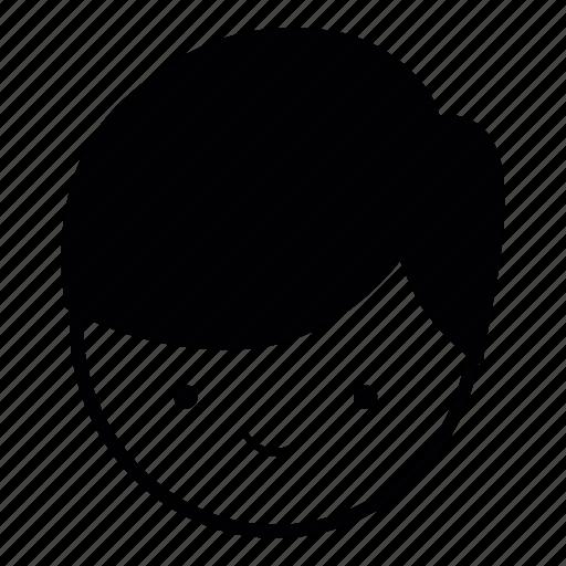 boy, emoji, face, guy, human, nice, niceguy icon